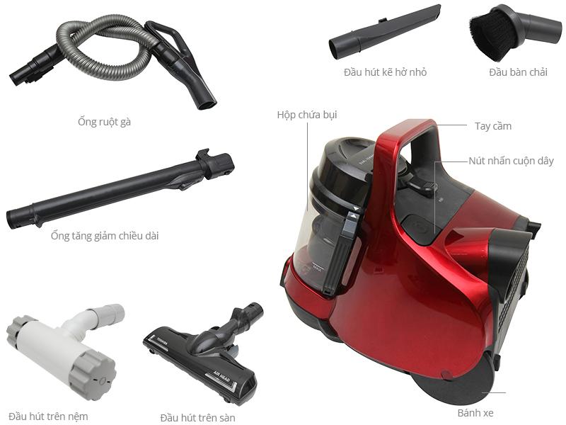 Hãy lựa chọn máy hút bụi mini đến từ Toshiba !