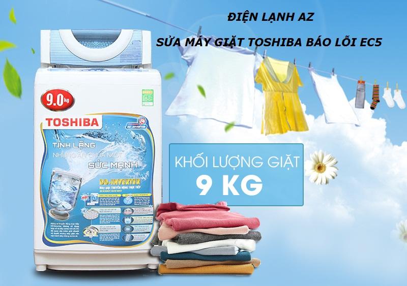 Sự hỗ trợ tuyệt vời cho công việc giặt giũ hàng ngày : máy giặt Toshiba 9kg